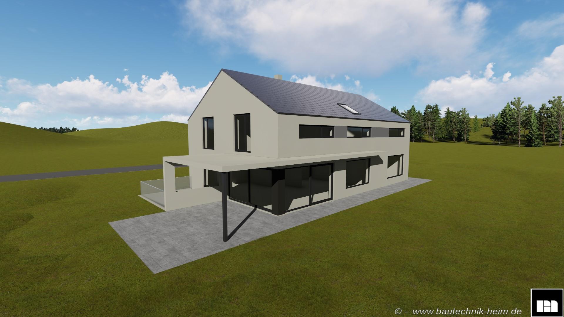 neubau wohnhaus